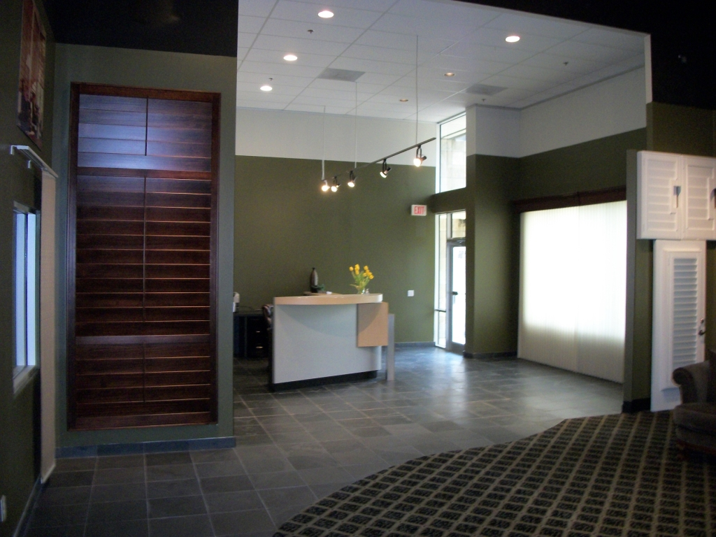Entry of the showroom